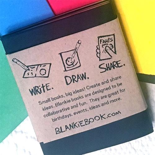 Blankie Book 3 Pack Black